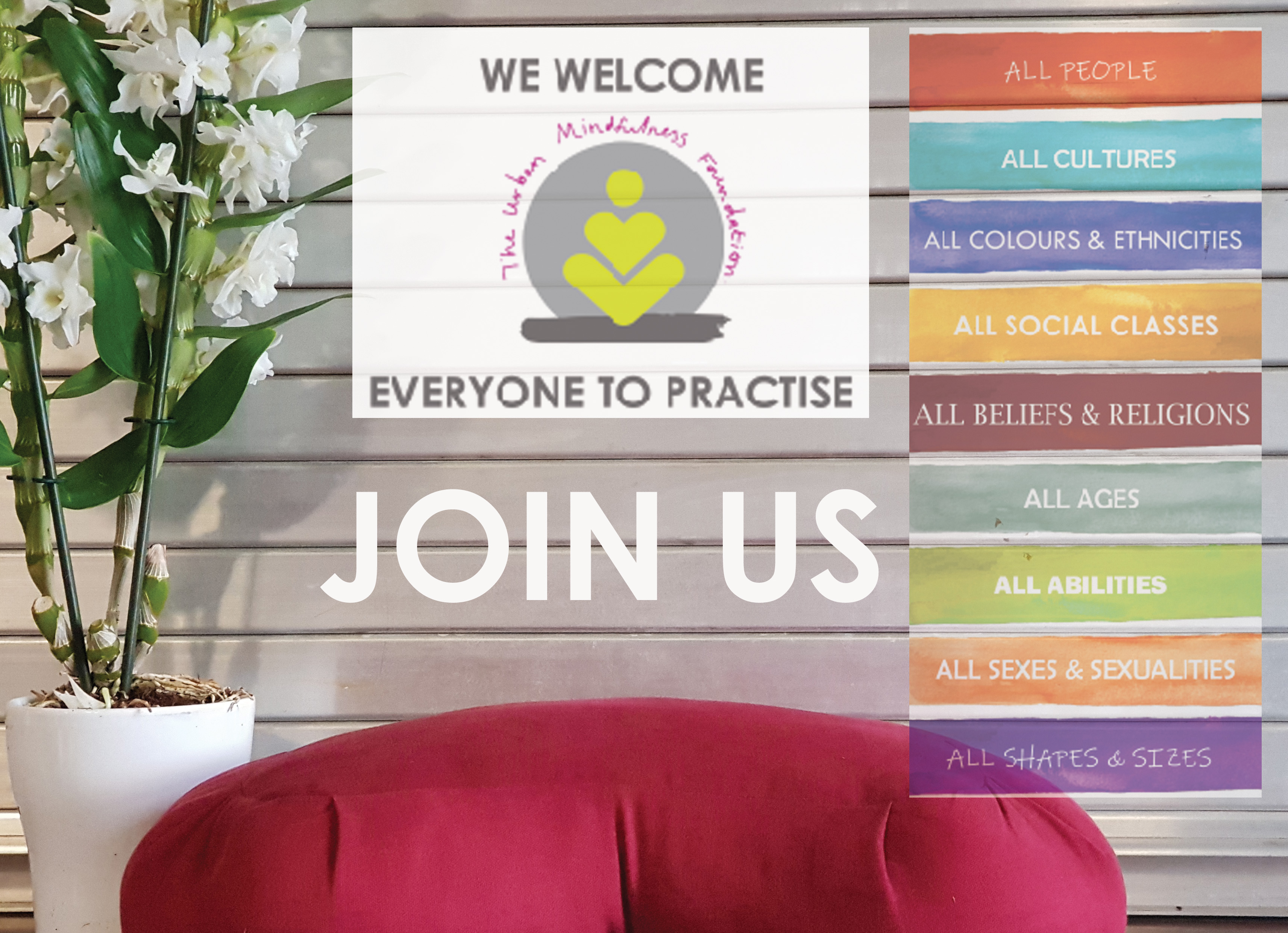 Mindfulness Training for all people Social Mindfulness Group covering life topics such as racial justice, equality, diversity and inclusion. Multicultural Mindfulness Specialist